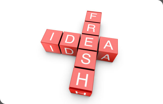 Fresh Ideas - Graphic Design