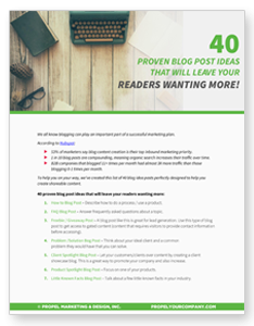 40 proven blog posts guide