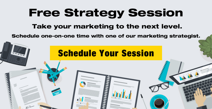 Take your marketing to the next level. Schedule a free strategy session.