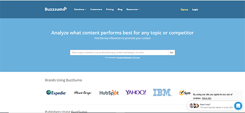 Online research and monitoring tool. Allows users to find popular content by topic on all domains.