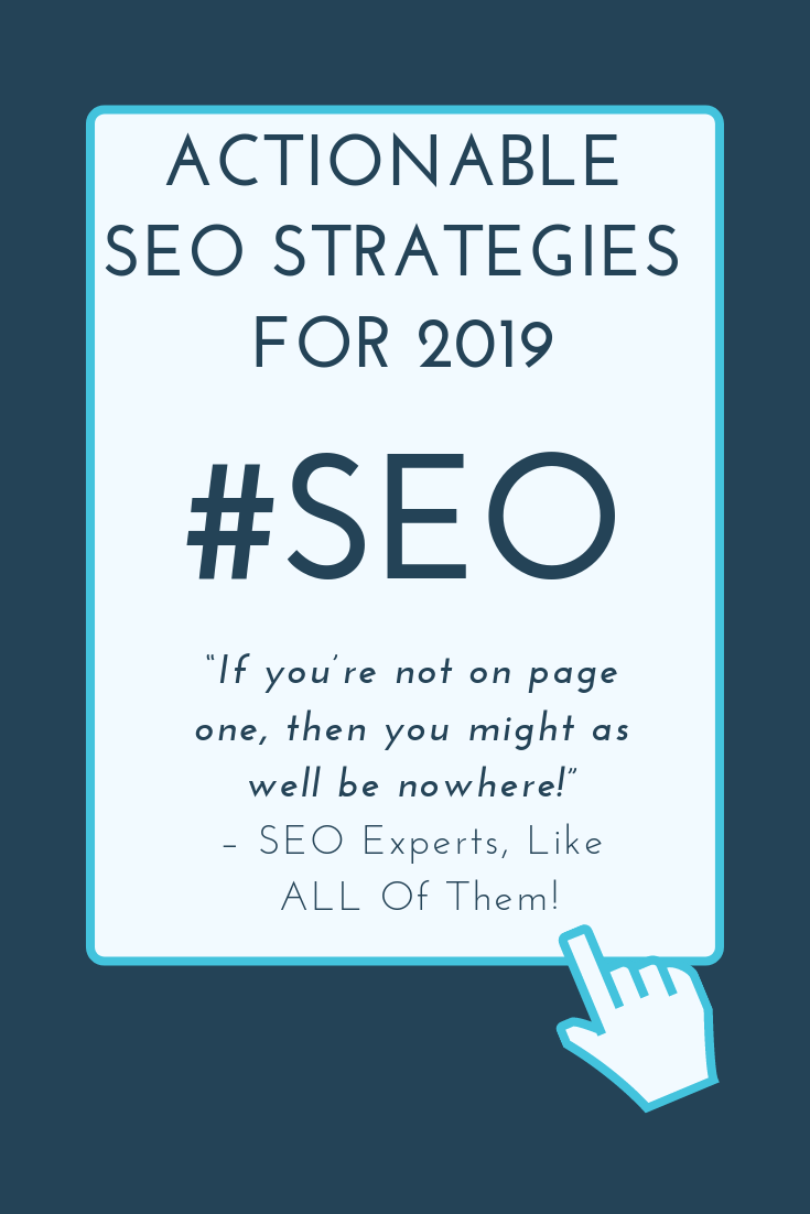SEO strategies that work right now!