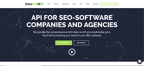 DataForSEO is a competitor analysis tool used to compare SEO metrics of your website with competitors.