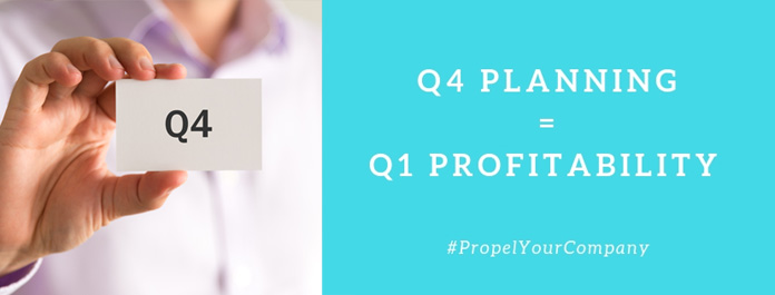 Q4 Planning = Q1 Profitability