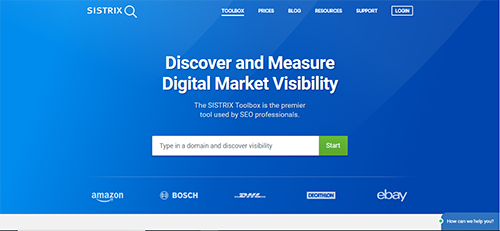 Use SISTRIX to monitor SEO, SEM and linkbuilding progress of your domain as well as competitors.