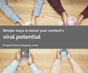 Simple Ways to Boost Your Content's Viral Potential