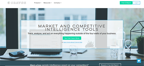 Analysis tool that provides entire digital footprint of competitors