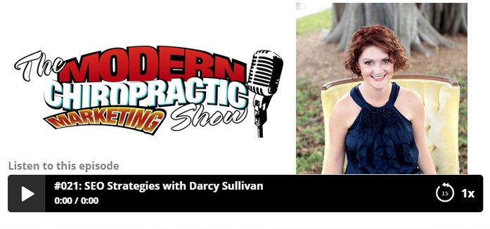 The Modern Chiropractic Marketing Show: SEO Strategies with Darcy Sullivan