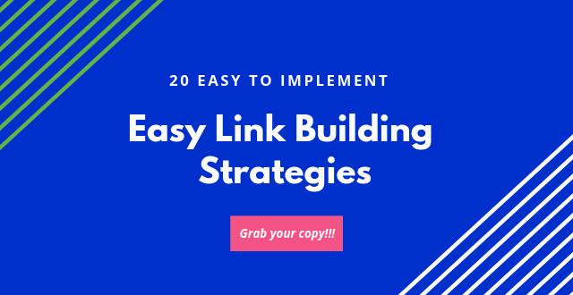 get link building strategies