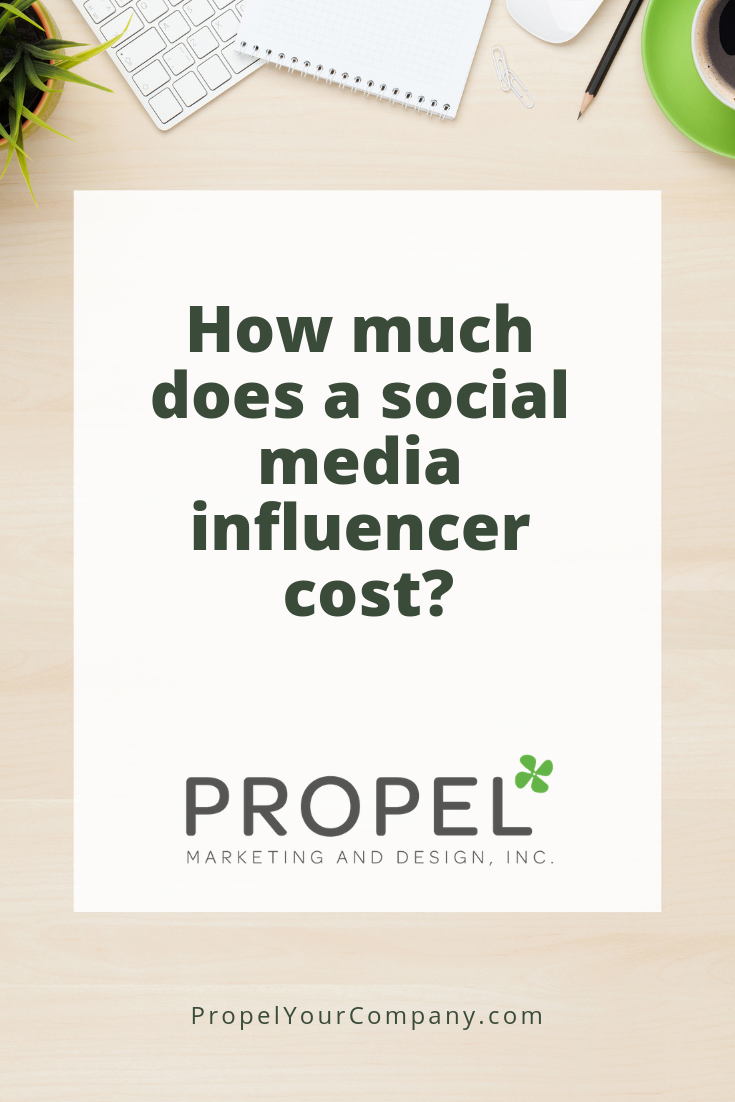 How much does a social media influencer cost?