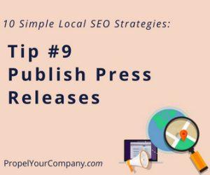 Publish Press Releases