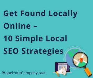 Get Found Locally Online