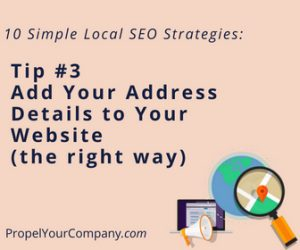 Add Your Address Details to Your Website (the right way)