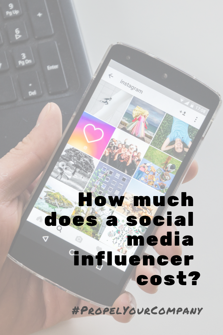 Find out how much a social media influencer costs
