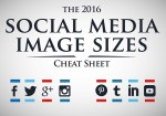 2016 Guide to Social Media Sizes
