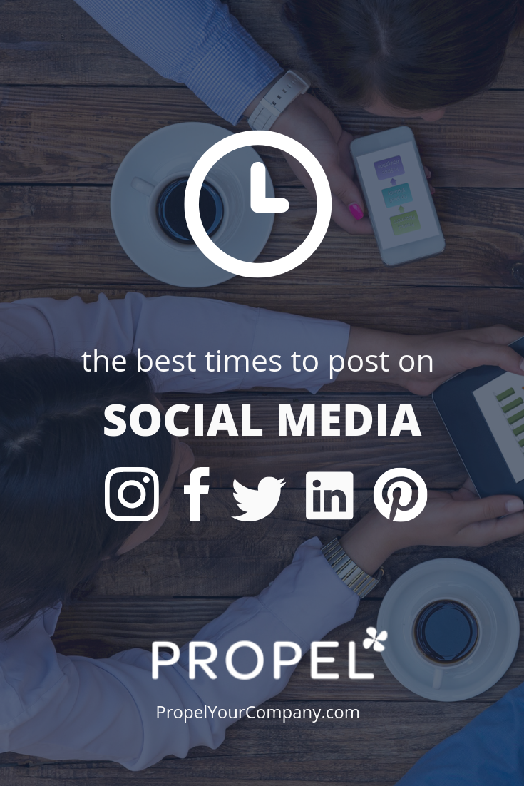 When to post on Instagram, Facebook, Twitter, LinkedIn & Pinterest for the best results