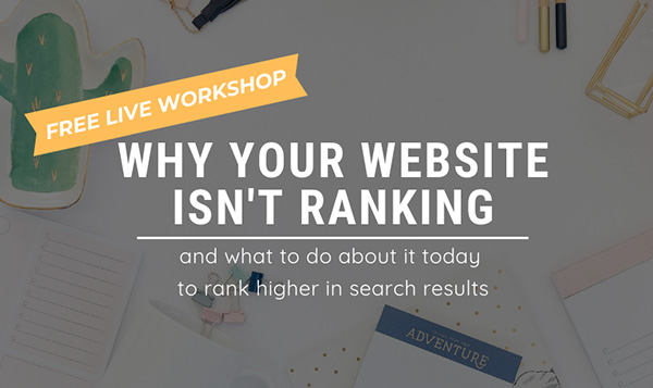 why your website isn't ranking